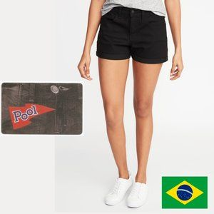 Pool Jeans Vintage Cotton Cuffed Shorts